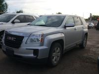 Quicksilver Metallic 2016 GMC Terrain SLE-1 FWD 6-Speed
