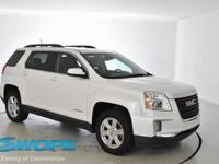 This 2016 GMC Terrain SLE-2 in White Frost