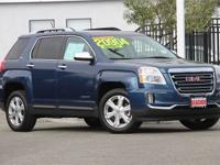 CARFAX One-Owner. Clean CARFAX. Blue Metallic 2016 GMC