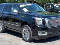 CARFAX One-Owner. Clean CARFAX. Black 2016 GMC Yukon