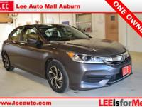 2016 Honda Accord LX Gray Bluetooth, Hands free