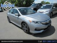 This 2016 Honda Accord Sport is a one owner lease