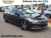 This 2016 Honda Accord Sport in Kona Coffee Metallic