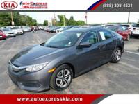 - - - 2016 Honda Civic Sedan 4dr CVT LX - - -  4 Wheel