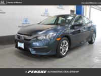 2016 Honda Civic LX HONDA TRUE CERTIFIED, INCLUDES