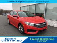 2016 Honda Civic LX **THIS VEHICLE IS ELIGIBLE FOR