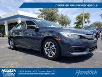 HONDA CERTIFIED! ONE OWNER! CLEAN CARFAX! LOW MILES -