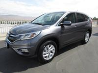 Our 2016 Honda CR-V EX-L AWD SUV in Modern Steel