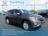 AWD. CARFAX One-Owner. Clean CARFAX.Certified. Modern