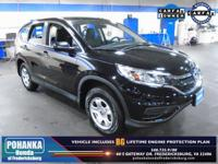 BACKUP CAMERA!! This 2016 CR-V is a one owner vehicle