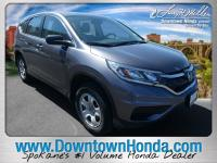 This outstanding example of a 2016 Honda CR-V LX is