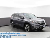 Melloy Honda is excited to offer this 2016 Honda CR-V.