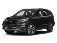 2016 Honda CR-V Touring CARFAX One-Owner. ***HONDA