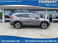*Local Trade*. CARFAX One-Owner. 2016 Honda CR-V