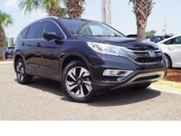 This 2016 Honda CR-V Touring in Black features: One