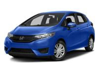 2016 Honda Fit LX CARFAX One-Owner. ***HONDA FACTORY