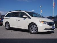 Introducing the 2016 Honda Odyssey! The safety you need
