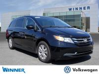 CARFAX One-Owner. Crystal Black Pearl 2016 Honda