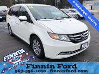 This Honda Odyssey is well equipped and includes the