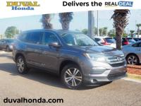 This 2016 Honda Pilot EX-L in Gray features: **ONE