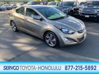 This 2016 Hyundai Elantra Limited is offered to you for