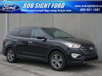 Black 2016 Hyundai Santa Fe SE FWD 6-Speed Automatic