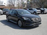 2016 Phantom Black Hyundai Sonata Limited FWD 6-Speed