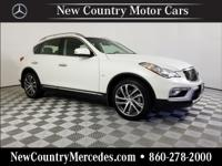 Majestic White 2016 INFINITI QX50 AWD 7-Speed Automatic