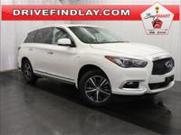 2016 INFINITI QX60 Base White Includes a 1 year /12,000