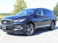 2016 INFINITI QX60 Base Clean CARFAX. CARFAX One-Owner.