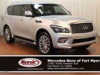 This 2016 INFINITI QX80 comes loaded with features like
