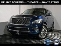 2016 INFINITI QX80 Deluxe Touring Tech Theater Wheels