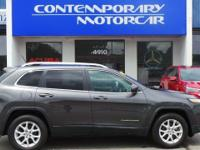 2016 Jeep Cherokee Latitude Billet Silver Metallic