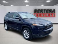 2016 Jeep Cherokee True Blue Pearlcoat Latitude Rear
