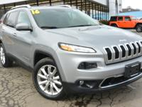 Priced below KBB Fair Purchase Price!2016 Jeep Cherokee