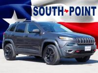 2016 Jeep Cherokee Trailhawk CARFAX One-Owner. Odometer