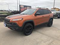 Check out this 2016 Jeep Cherokee Trailhawk. Its