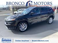 New Price! Black 2016 Jeep Cherokee Limited FWD 9-Speed