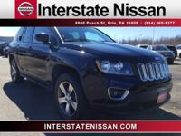 Black 2016 Jeep Compass High Altitude 4WD 6-Speed 2.4L