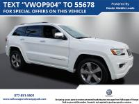 Pre-Owned 2016 Jeep Grand Cherokee Overland. One Owner