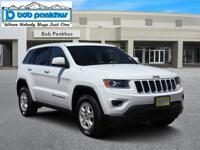 Our 2016 Jeep Grand Cherokee Laredo 4X4 in Bright White