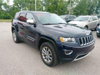 Recent Arrival! 2016 Jeep Grand Cherokee Limited 4WD.