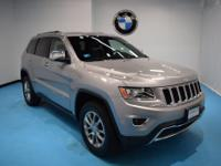 2016 Jeep Grand Cherokee Limited Billet Silver Metallic