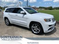 Bright White Clearcoat 2016 Jeep Grand Cherokee Summit