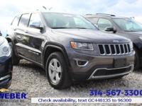 Recent Arrival! 2016 Jeep Grand Cherokee Limited