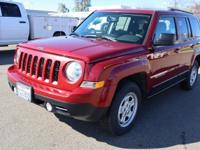 2016 Jeep Patriot Sport Sport Deep Cherry Red