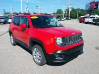 Recent Arrival! 2016 Jeep Renegade Latitude Red