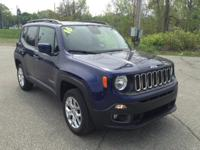 Recent Arrival! 2016 Jeep Renegade Latitude Blue