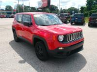 Recent Arrival! 2016 Jeep Renegade Sport Odometer is