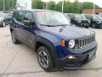 Recent Arrival! 2016 Jeep Renegade Sport Jetset Blue